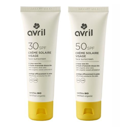 Crema solare viso Avril
