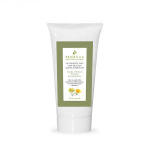 Detergente viso con delicata azione esfoliante