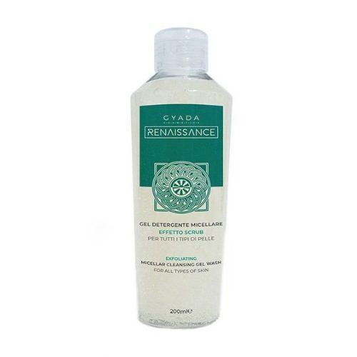Gel detergente micellare-effetto scrub