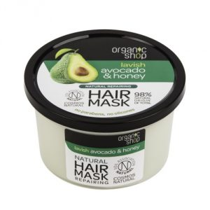 Maschera capelli Avocado & Miele