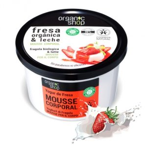 Mousse corpo Fragola & Latte