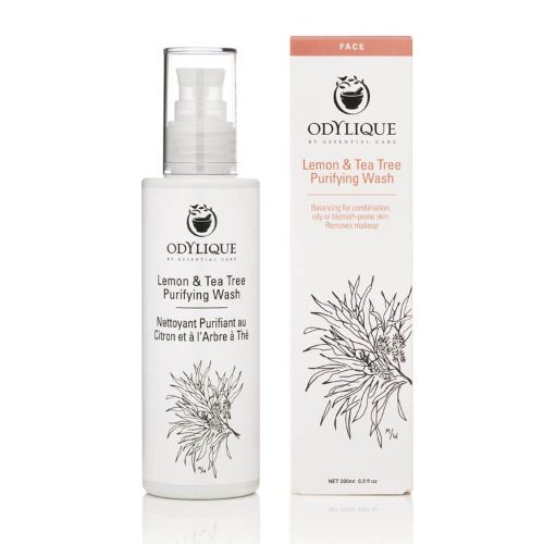 purifyng lemon & tea tree wash odylique