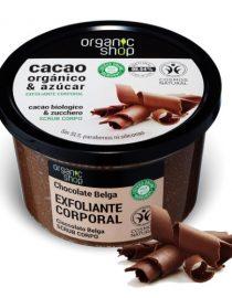 Scrub corpo Cioccolato Belga Organic Shop