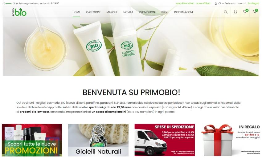 Cerchi una Bioprofumeria Online? Scopri PrimoBio.it!