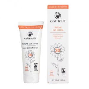 Crema solare pelle sensibile SPF 30
