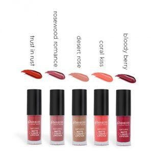 Natural Matte Liquid Lipstick – Rossetti Liquidi