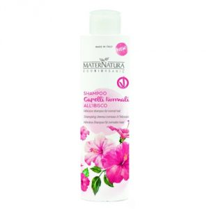 Shampoo capelli normali all'Ibisco Maternatura