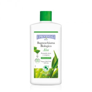 Bagnoschiuma biologico Aloe