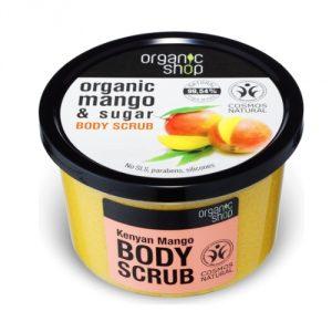 Scrub corpo Mango biologico Organic Shop