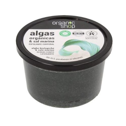 Scrub corpo levigante Alghe Marine Organic Shop