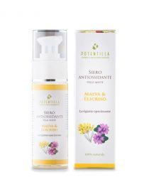 siero antiossidante pelli miste malva e elicriso potentilla
