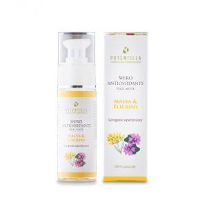 Siero antiossidante pelli miste Malva & Elicriso