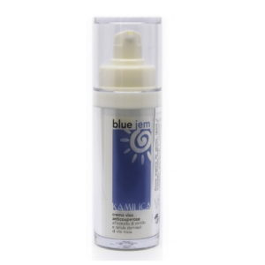 Crema viso BLUE JEM per pelle sensibile e couperose