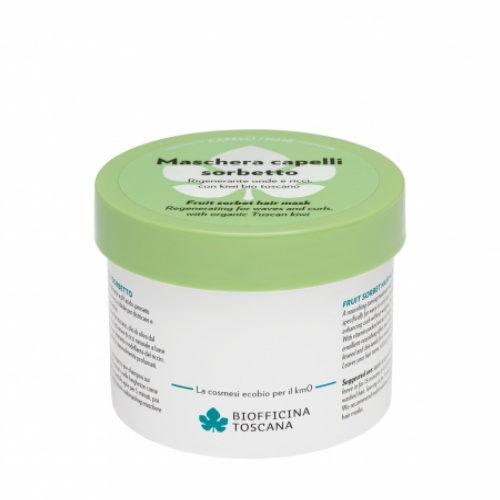 Maschera capelli Sorbetto rigenerante onde e ricci Biofficina Toscana