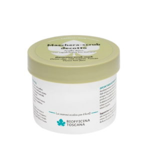 Maschera Scrub DECOTTO con Argilla e Capelvenere