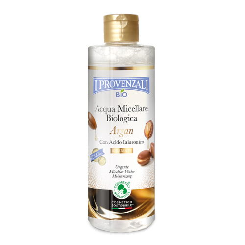 Acqua micellare biologica Argan & Acido Ialuronico