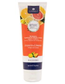 balsamo capelli secchi arancio e limone alkemilla