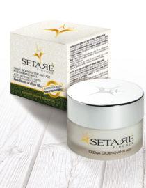 crema giorno anti age Setarè per la pelle mista