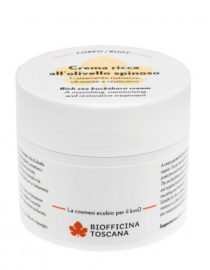 crema ricca all'olivello spinoso biofficina toscana