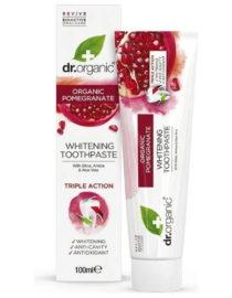 dentifricio al melograno dr organic