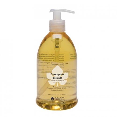 Detergente delicato viso, corpo e capelli Biofficina Toscana