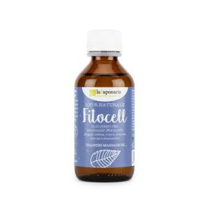 Olio anticellulite da massaggio Fitocell La Saponaria
