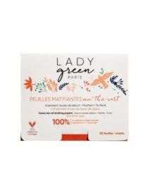 foglietti assorbi sebo lady green