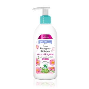 Latte detergente viso all'Olio di Rosa Mosqueta