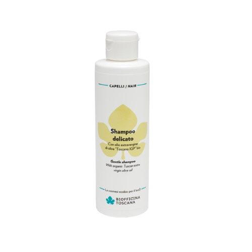 Shampoo delicato con Olio extravergine d'Oliva Toscano IGP BIO Biofficina Toscana