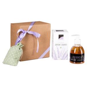 Confezione regalo Sapone liquido Lavanda