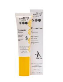 crema viso idratante pelle secca purobio for skin