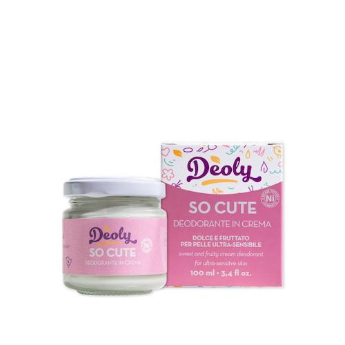 Deoly So Cute Deodorante in Crema