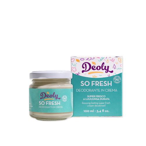 Deoly So Fresh Deodorante in Crema