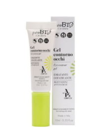 gel contorno occhi purobio for skin