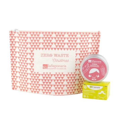 Pochette zero waste capelli lenitivo