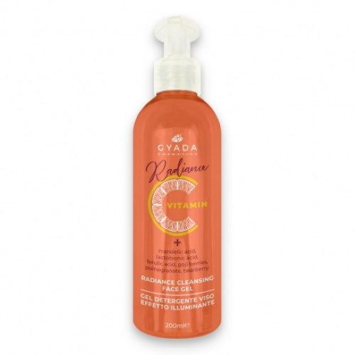Radiance Cleansing Face Gel Gyada Cosmetics