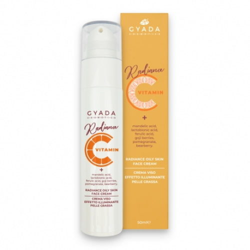 Radiance Oily Skin Face Cream Gyada Cosmetics