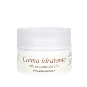 Crema idratante viso alle Proteine del Riso