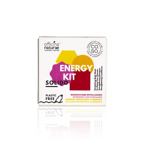 Energy Kit Cosmetici Solidi Officina Naturae