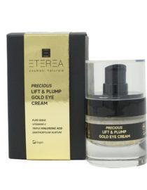 lift & plump gold eye cream eterea