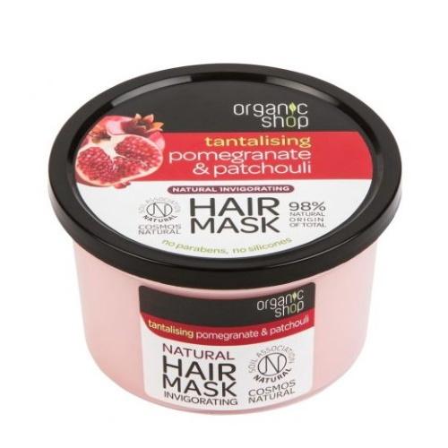 Maschera capelli Melograno & Patchouli Organic Shop