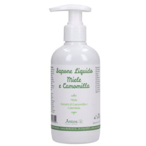 Sapone liquido Miele e Camomilla Antos