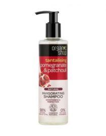 shampoo melograno e patchouli organic shop