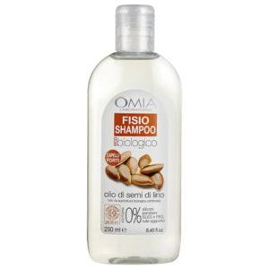 Fisio Shampoo con Olio di Semi di Lino
