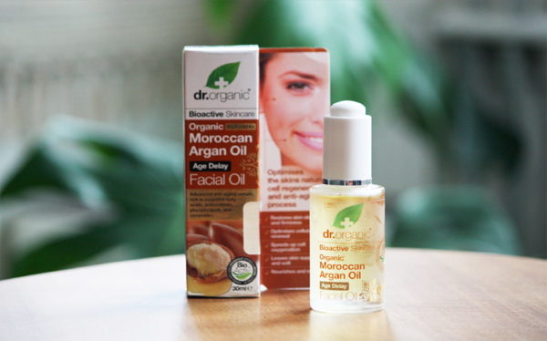 migliore olio viso naturale e bio dr organic