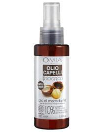 olio capelli olio di macadamia omia laboratoires
