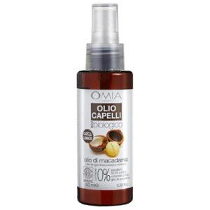 Olio capelli con Olio di Macadamia Omia Laboratoires