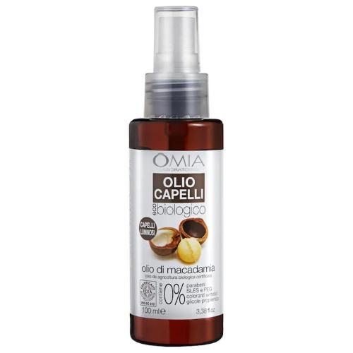 Olio capelli con Olio di Macadamia