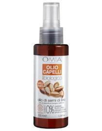 olio capelli olio di semi di lino omia laboratoires