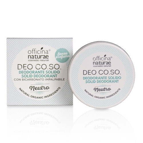 Deo CO.SO. Officina Naturae: deodoranti solidi